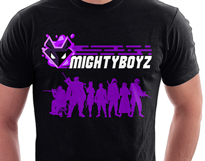 Mighty Boyz Shirts design