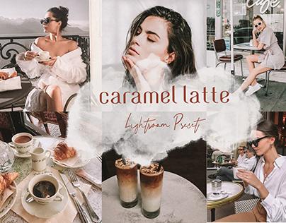 Caramel Latte Mobile Lightroom Preset