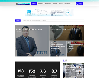 Ricardo Sosa - News Website