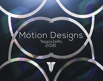 Motion Design 2018