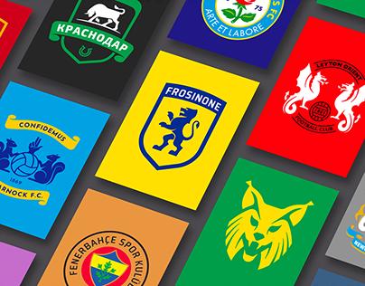 Football Logos | Redesign