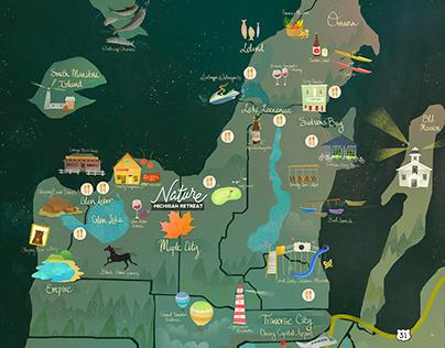 NATURE - A Michigan Retreat