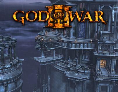 God of War 3 (2010) Olympus Exterior Environment Art