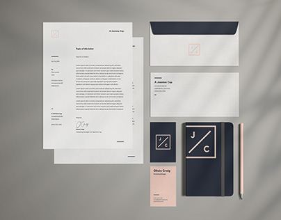 Stationary Branding Set // The Jasmine Edition