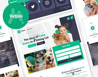Vetimi - Veterinary Website Template