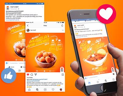 Fast Cheff - Mídias sociais 2017