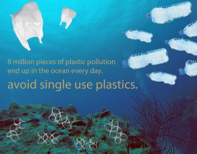 avoid single use plastics