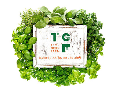 Tech Green Farm - Branding Design