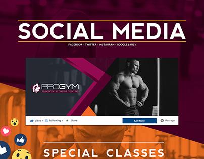 Pro Gym - Social Media