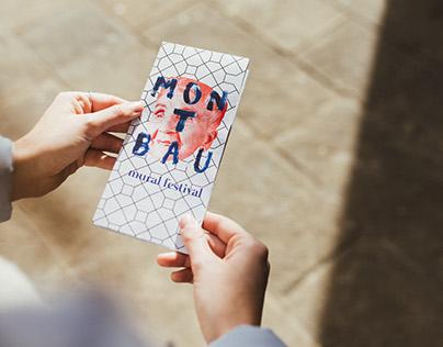 Montbau Mural Festival | Identidad gráfica