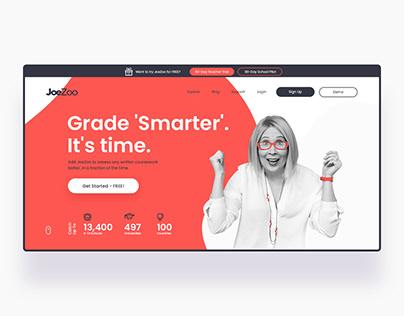 JoeZoo website - web applications for K-12 education