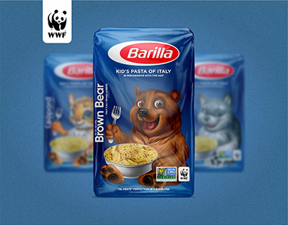 Barilla Kid`s Pasta | Joint project with WWF