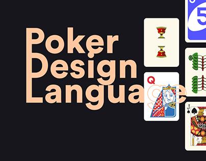 Poker Design Language