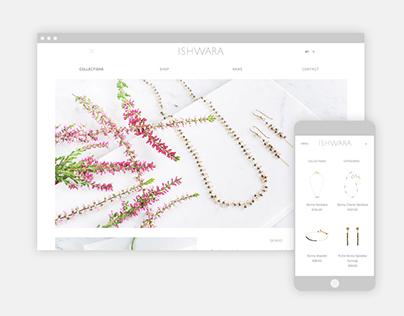 Ishwara Jewels -- Responsive E-commerce Website