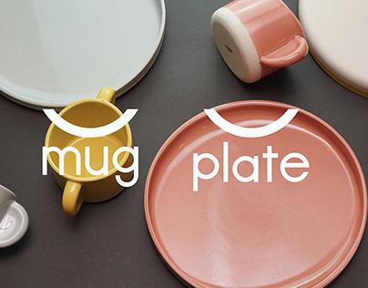 U mug & U plate