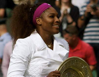 AaroSome of Serena's Grand Slams are missing…