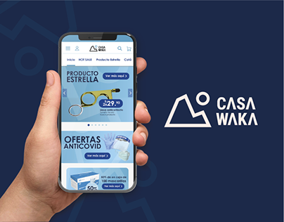 Prototipo App Casa Waka | Diseño Web Mobile