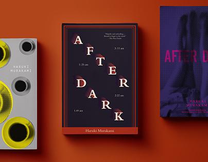 After Dark : Book cover design