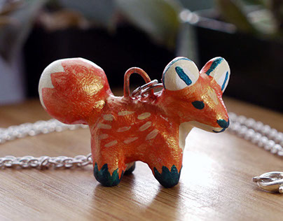 Hand Painted Necklaces