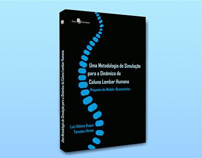 """Capa do livro """"Uma Metodologia de Simulação para a..."""""""