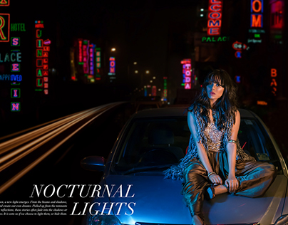 Nocturnal Lights | Fashion Editorial