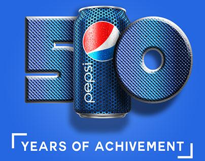 Pepsi ad Design - Photoshop