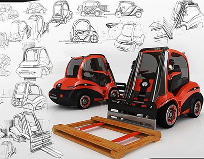 School Project For Toyota Forklift Design