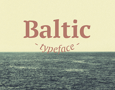 Baltic typeface