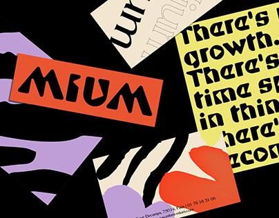 Mium Mium — Global Identity