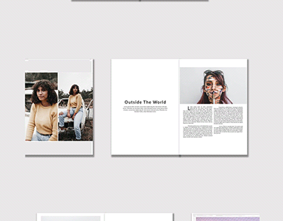 Adobe InDesign Mondo Magazine Template