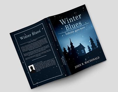 """Book Cover Design - """"Winter Blues"""""""