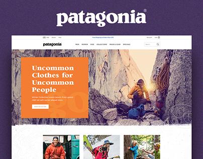 Patagonia Website Concept