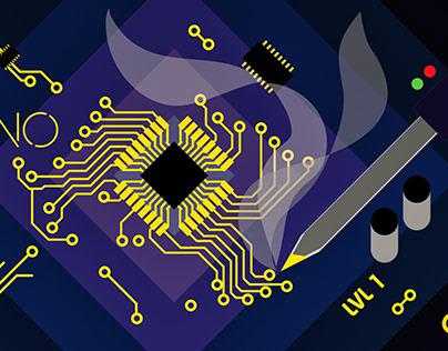 Hacklab Workshops Set 1 | Poster Design