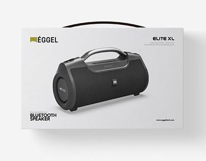 Plan.B   Elite XL Bluetooth Speaker Package Design