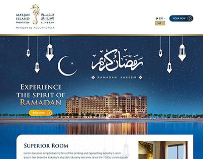 Ramadan offers landing page