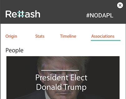 Rehash Hashtag Analysis Browser Plugin