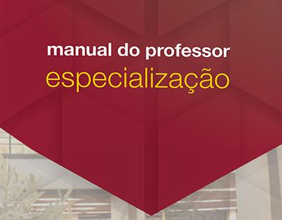 Manual do professor de especialização