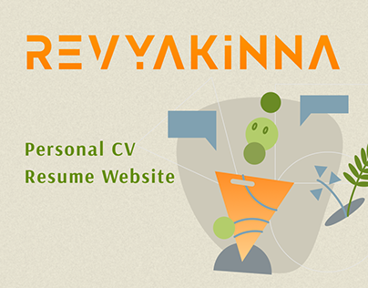 Personal CV / Resume Website