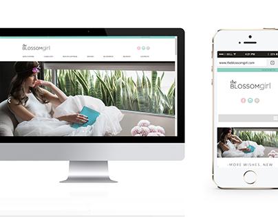 Desarrollo de página web. The Blossom Girl