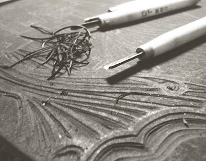 Linocut   Tranh khắc cao su
