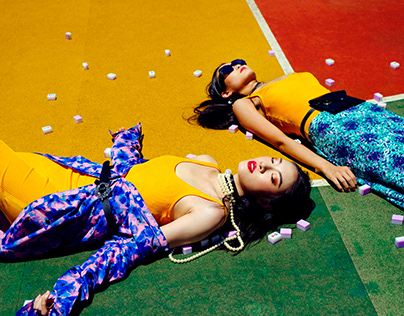 Game of Colors - Fashion Photography
