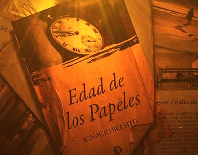 """Motion Graphic Libro """"Edad de los Papeles"""""""