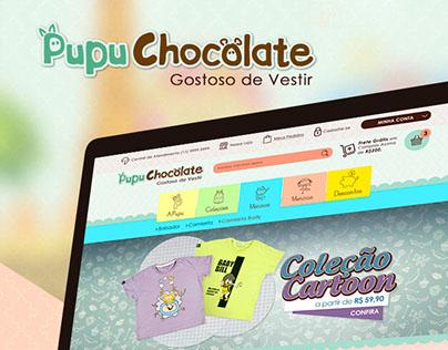 Ecommerce: Pupu Chocolate
