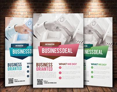 Stock Market Business Flyer