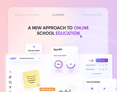 ROOM Product/UX/UI Design (Website, Web App)