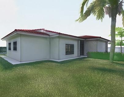 Plans of a Villa in Jerez