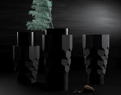 Gont Vase. 3d