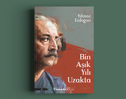 Yılmaz Erdoğan // poetry book cover