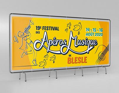 AFFICHE • Festival des Apéros Musique