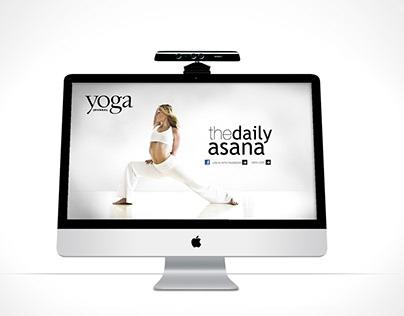 Kinect Enhanced Yoga Journal App